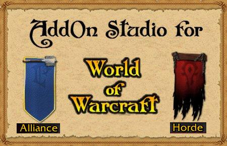 AddOn Studio for World of Warcraft