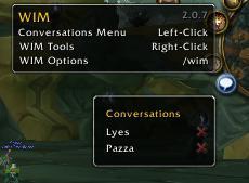 WIM (WoW Instant Messenger) 3.3.3 RU